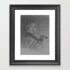 bangbang Framed Art Print