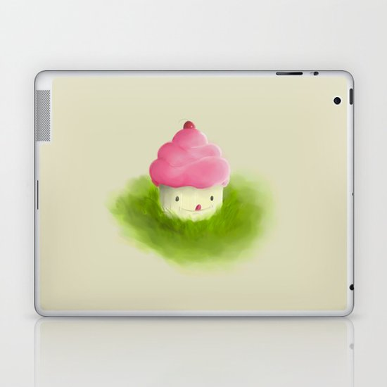 Go play with your cupcake Laptop & iPad Skin
