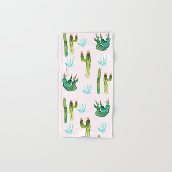 A Couple of Cacti Hand & Bath Towel