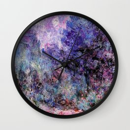 Monet : The House Seen From the Rose Garden Wall Clock