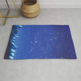 Blue Mountain Under the Stars Rug