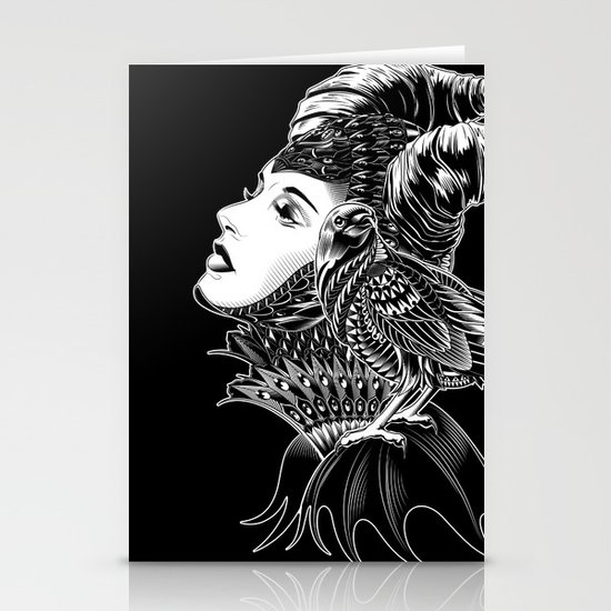 Maleficent Tribute Stationery Cards