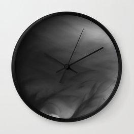 Fire Smoke Wall Clock