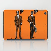 zombies iPad Cases featuring HALLOWEEN ZOMBIES by kravic