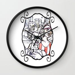 Another East Village Still Life Wall Clock