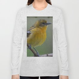 Female Baltimore Oriole Long Sleeve T-shirt