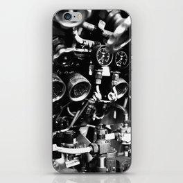 Submarine valves iPhone Skin