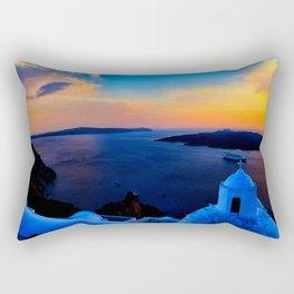 Santorini 26 Rectangular Pillow