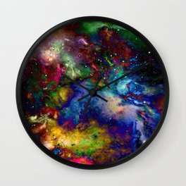 Everything is nothing 31 (therefore it was beautiful) Wall Clock