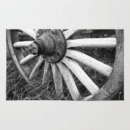 Wagon Wheel #3 Rug