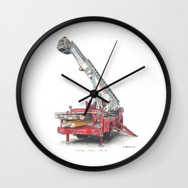 Providence FD, Tower Ladder 2, '72 Mack Wall Clock