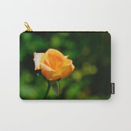 Yellow Orange Rose by Teresa Thompson Carry-All Pouch
