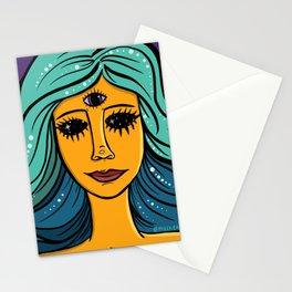 She Woke Stationery Cards
