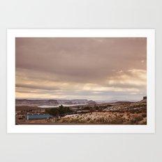 Near Lake Powell, AZ Art Print