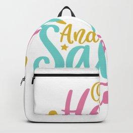 Ocean Hair and Salty Hair Backpack
