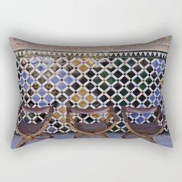 Alhambra's chairs Rectangular Pillow