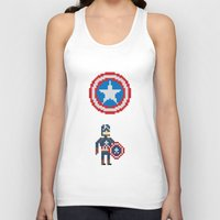 steve rogers Tank Tops featuring Steve Rogers by Bryan