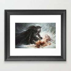 Hades and Persephone Framed Art Print