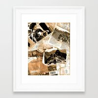 peru Framed Art Prints featuring Peru  by Megan S