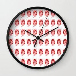 Sea Invader Wall Clock