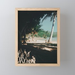 Fiji dreaming Framed Mini Art Print