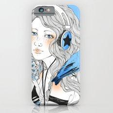Blue girl iPhone 6s Slim Case