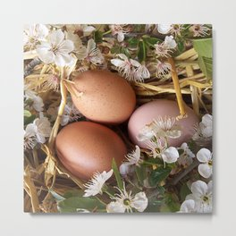 ester egg design Metal Print