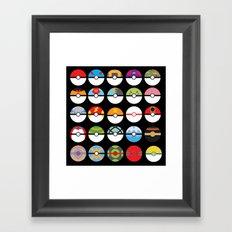 Look at My Balls Framed Art Print