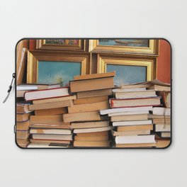 A pile of second hand books Laptop Sleeve