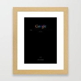 The IT Crowd - Google Framed Art Print