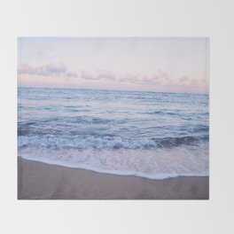 Ocean Morning Throw Blanket