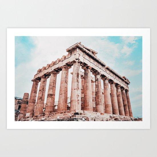 Parthenon Fine Art Print by sidecarphoto