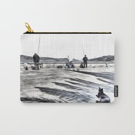 The Waiting Game Art Carry-All Pouch