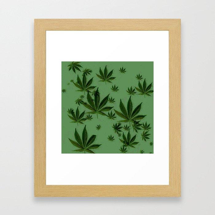 Higher and Higher Framed Art Print