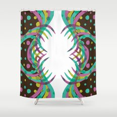 Abstract Spring Bloom Shower Curtain