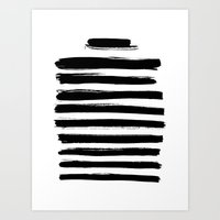 letter Art Prints featuring Letter by RK // DESIGN