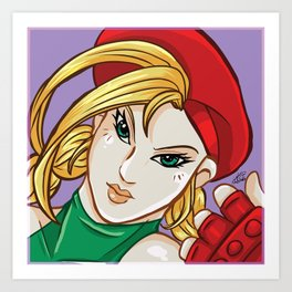 Choose Your Fighter:  Cammy Art Print