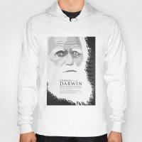 darwin Hoodies featuring Darwin by James Northcote