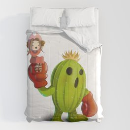 Mimi and Palmon Comforters