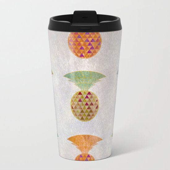 Ananas Jewels Metal Travel Mug