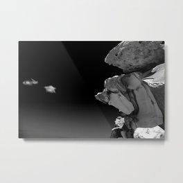 Bondi Beach Rock Formation Metal Print