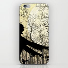 Zombies by Moonlight iPhone Skin