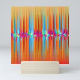 Seismic Shift Fiery Clouds Mini Art Print