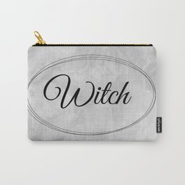 Witch - Modern Witch - Grey-Black Carry-All Pouch