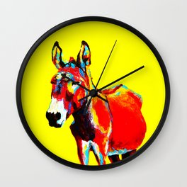 MEXICAN DONKEY Wall Clock