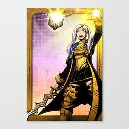 Grandmaster of Lightning Canvas Print