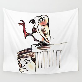 Los Caprichos ~ 53 ~ What a Golden Beak! Wall Tapestry