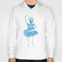 ballerina Hoodies featuring Ballerina by clemm