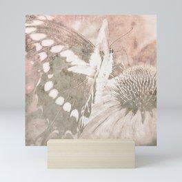 butterfly haze Mini Art Print
