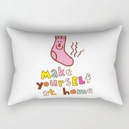 Make yourself at home Rectangular Pillow